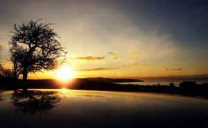 Sunset on island of Hvar - Villa Dane