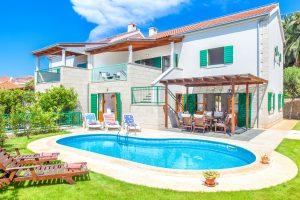 Villa Dane with a private pool