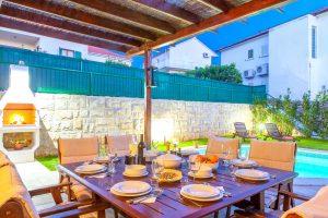 Terrace in front of Villa Dane