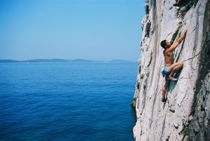 Climbing on the Island of Hvar - Villa Dane