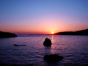 Sunset on the Island of Hvar - Villa Dane