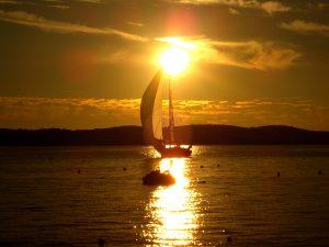 Hvar's bay in sunset - Villa Dane