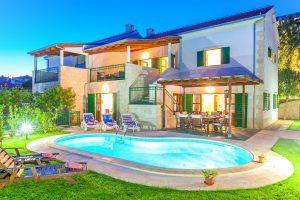 Villa Dane with a pool