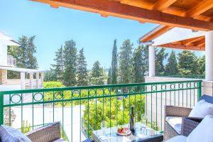 Balcony in Villa Dane