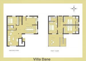 Layout of Villa Dane