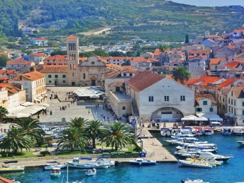 Hvar town on Island of Hvar - Villa Dane