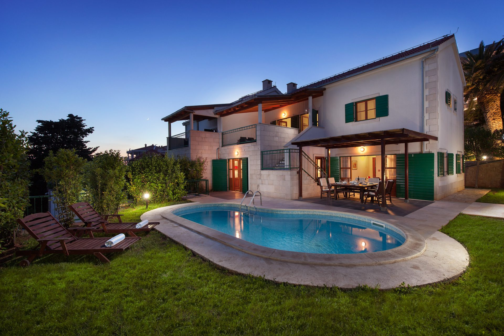 Villa Dane with private swimming pool on Hvar island for rent