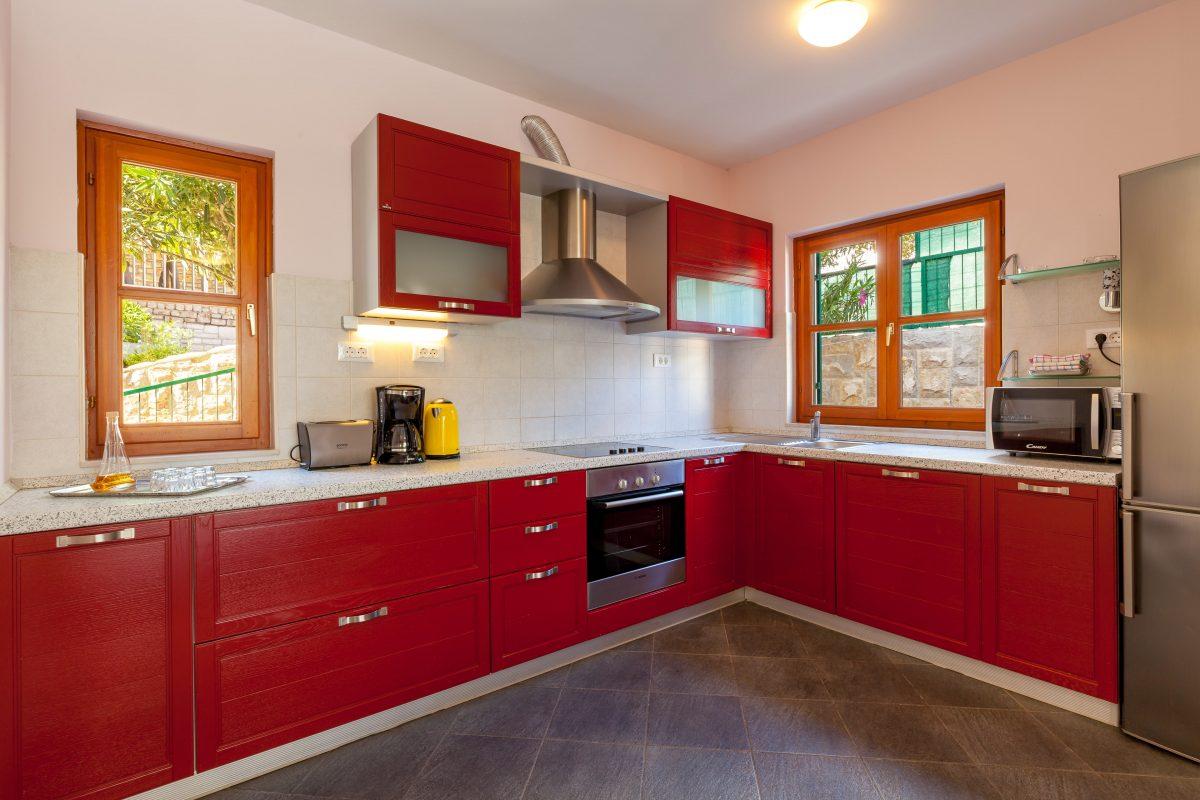 Kitchen in Villa Dane